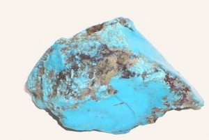 Natural turquoise gemstone